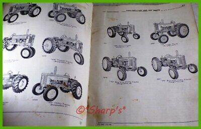 John Deere 420 430 Parts Book Catalog Pc505 Genuine Original 1959 Version