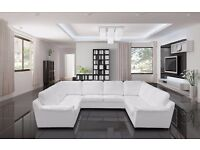 Brand New U Shape Corner Sofa Available In Various Colours