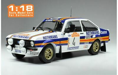 Ford Escort MKII RS 1800 - A. Vatanen/Richards - San Remo 1980 #4 - Ixo (1:18)