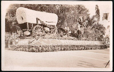 UTAH UT Western Auto Supply Co Parade Float Conestoga Wagon Vtg RPPC Postcard](Parade Float Supplies)