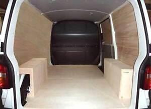 kit de protection bois vw transporter t5 long ebay. Black Bedroom Furniture Sets. Home Design Ideas