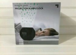 Sharper Image Nature Sounds Star Pattern Projection Alarm Clock NEW in BOX