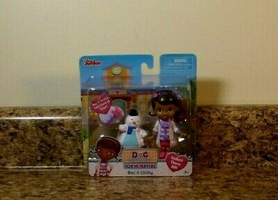 Doc Mcstuffins Set (Disney Doc McStuffins Doc & Chilly Figures Set )