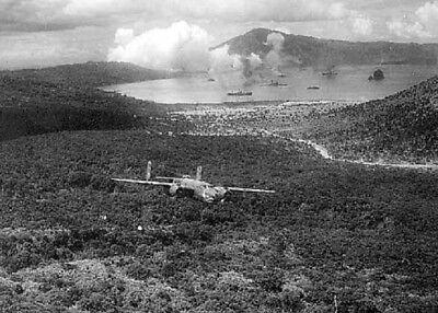 "B-25D Mitchell Bomber ""Here's Howe"" 5x7 World War II WW 2 Photo Picture 632"