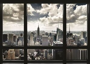 NEW-YORK-CITY-WINDOW-VIEW-GIANT-WALL-POSTER