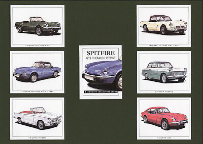 Triumph Spitfire, GT6, Herald, Vitesse - from 1963 to 1980 - Collectors Cards