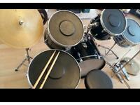 Pp professional prucussion starter drum kit