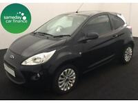 ONLY £115.89 PER MONTH 2013 FORD KA 1.2 ZETEC S/S 3 DOOR PETROL MANUAL