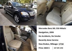 2006 Mercedes-Benz ML-350 SUV, Crossover