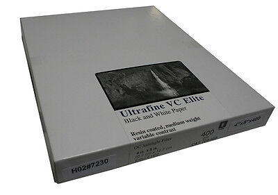 Ultrafine VC ELITE Pearl Variable Contrast RC Paper 4 x 5 / 400 Sheets