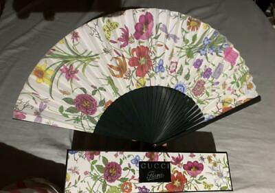 Gucci Flora Novelty Folding Fan Not For Sale Japan Limited sensu HTF flower
