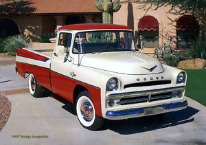 Looking for ; 1957 Dodge or Fargo pickup