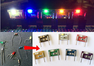 BriteBits Micro LED Breakout Boards, Rainbow Set Assembled