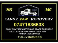 TANNZ 24HR RECOVERY 07471836633