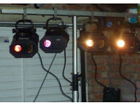 4 x Abstract Disco Lights