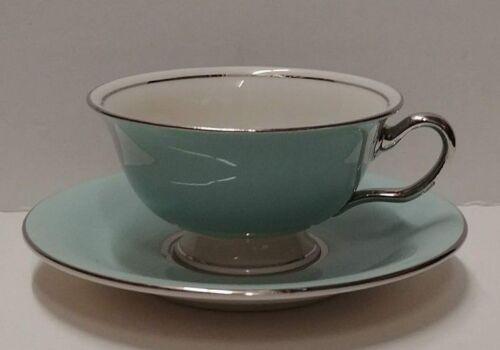 Castleton CASTLETON TURQUOISE Cup & Saucer SET More Items Available