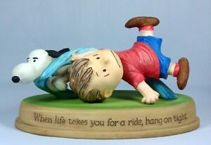 "Peanuts Gallery ""When life takes you for a ride, hang on tight"""