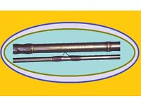 Brand New Fluff Chucker Fly Fishing Rod 9ft 2 Piece # 6/7