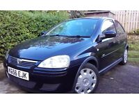 Vauxhall Corsa Design 1.3tdi, low mileage, mature lady owner