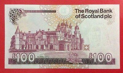 ROYAL BANK OF SCOTLAND £100 NOTE UNCIRCULATED. 2007. A/3.