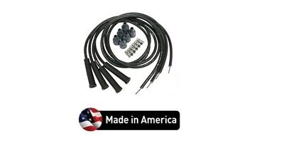 Spark Plug Wire Set Avery Tractor 4 Cylinder Straight Boot Wires Usa Made