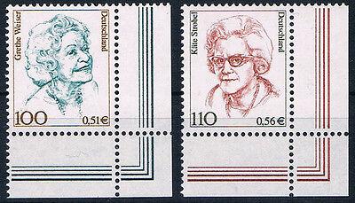 2149 + 2150 ** , BRD 2000, Frauen,  Weiser / Strobel   ERU