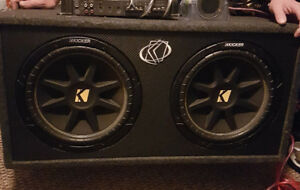 Subwoofers amp and power capacitor