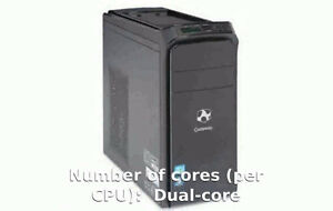 Gateway PC Model dx4860