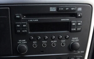 Volvo HU-850 head unit radio CD changer S60R V70R