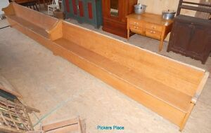 2 Matching Church Pews Peterborough Peterborough Area image 4