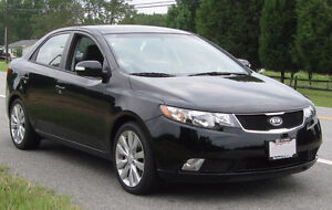 2010 BLACK Kia Forte SX 2.4L Sedan