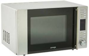 Brand New Stainless Steel Omega 30L Microwave Oven with Grill Baulkham Hills The Hills District Preview