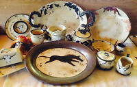 HANDMADE POTTERY WITH A EQUESTRIAN FLARE