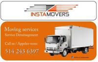 Moving Services/ Demenagement, Demenageur, Pianos: 514-243-6397