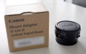 Canon EF to EF M mount adapter