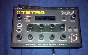 Dave Smith Instruments Tetra 4 Voice Polyphonic Synthesizer