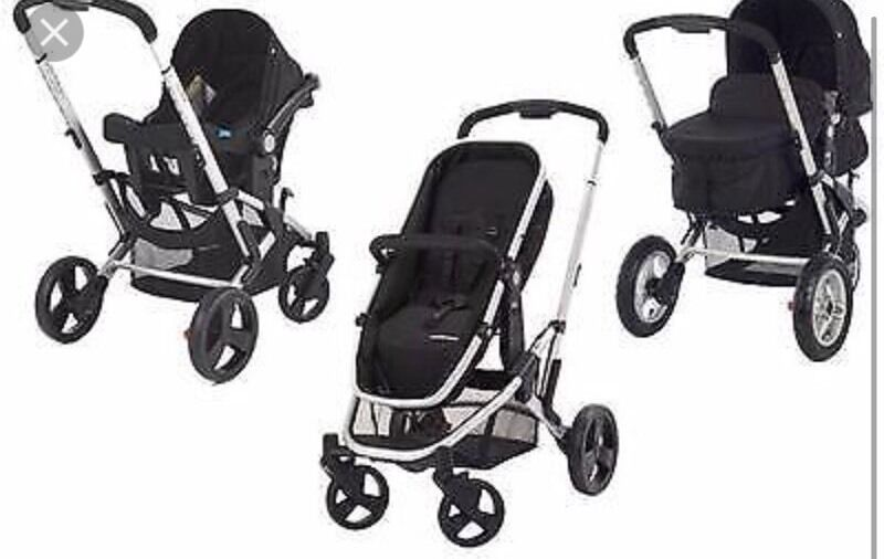 Mothercare Roam Travel System Pram Pushchair Car Seat