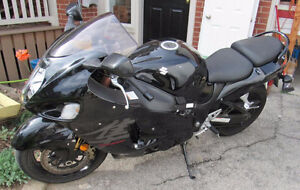 2007 Suzuki Hayabusa with Extras Clean Motorcycle Low KMS