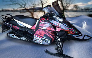 Custom Designed Snowmobile Graphics & Sled Wraps