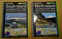NEW ZEALAND TRAVEL MAPS - ROAD TRIP - NEED TO HAVE
