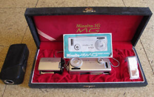 "Minolta - 16 MG Vintage ""Spy Cam"" New Price"