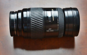 Minolta 100-400mm  f4.5-6.7 APO zoom lens (fits Sony A-mount)