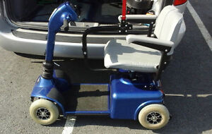 SCOOTER (4 WHEEL) ELECTRIC