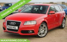 AUDI A3 1.2 SPORTBACK TFSI S LINE 5D 105BHP FULL SERVICE HISTORY + JUST SERVICED