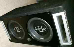 2 -12 inch Phoenix Gold Subs