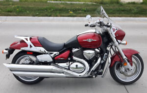 2009 Suzuki Boulevard M90 Super Cruiser New Safety & Tires OBO