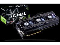 Inno 1080ti iChill X4 Ultra Air Boss graphics card