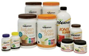 Isagenix programs available