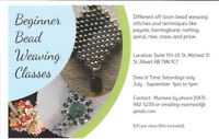 BEGINNERS BEAD WEAVING CLASSES