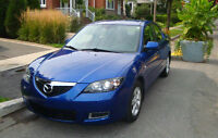 Mazda3 GS 2008 manual, 47 250km, $5 500